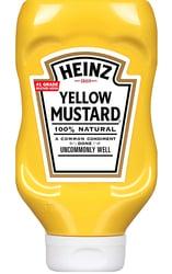 Heinz Mustard Label